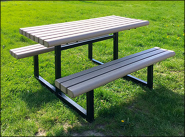 Tables Recycle Design - Park picnic table dimensions